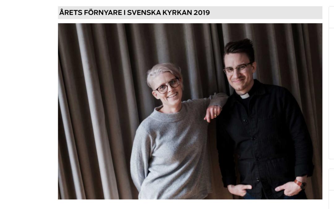 Årets förnyare i Svenska kyrkan 2019!